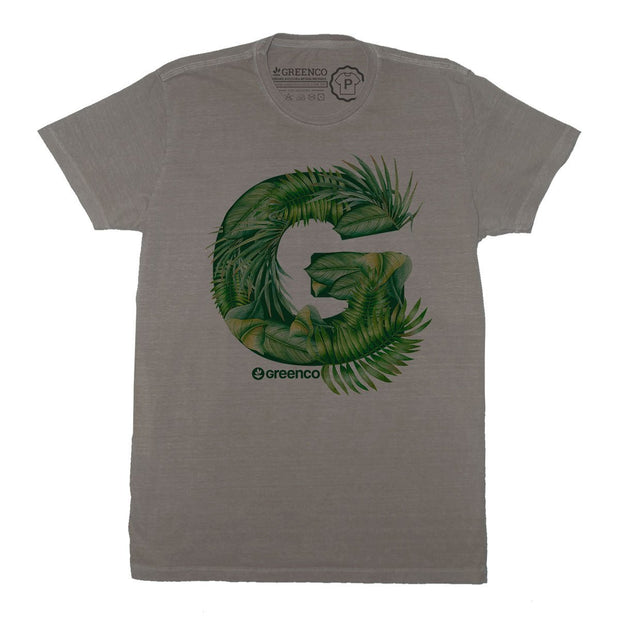 Sustainable Cotton Men's T-Shirt - G Leaves