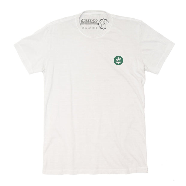 Sustainable Cotton Men's T-Shirt - Green Energy