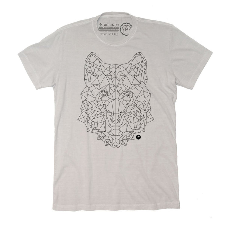 Sustainable Cotton Men's T-Shirt - Wolf