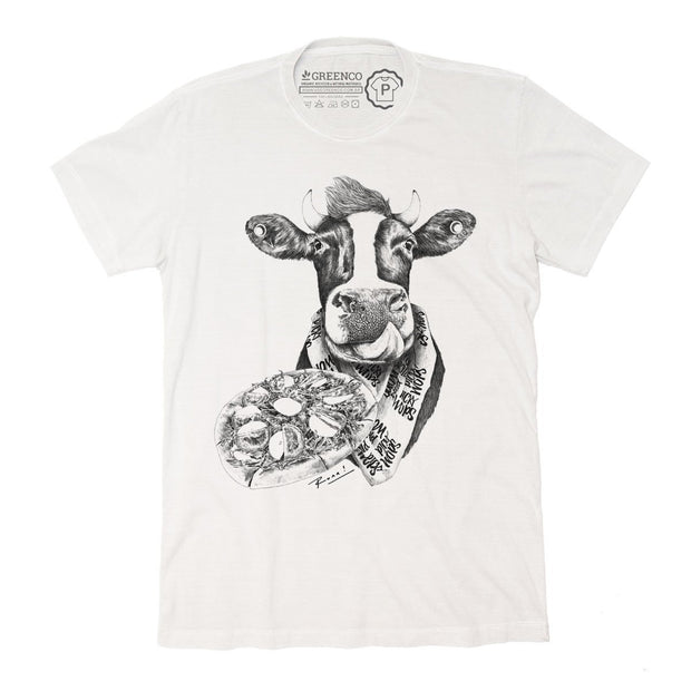 Sustainable Cotton Men's T-Shirt - Picky Moo - RK