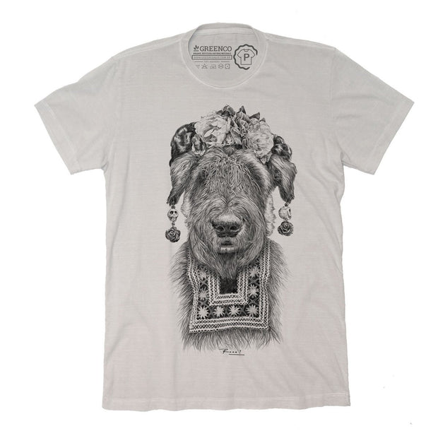 Sustainable Cotton Men's T-Shirt - Suusi Kahlo - RK