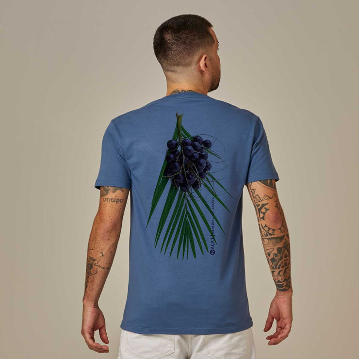 Comfort Cotton Men's V-neck T-shirt - Açaí