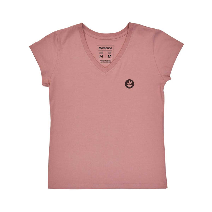 Comfort Cotton Women's V-neck T-shirt - Açaí
