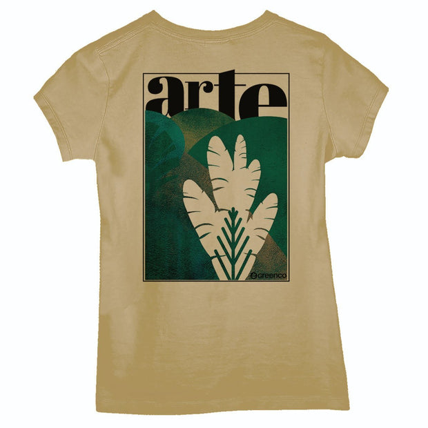 Sustainable Cotton Women's T-Shirt - Art