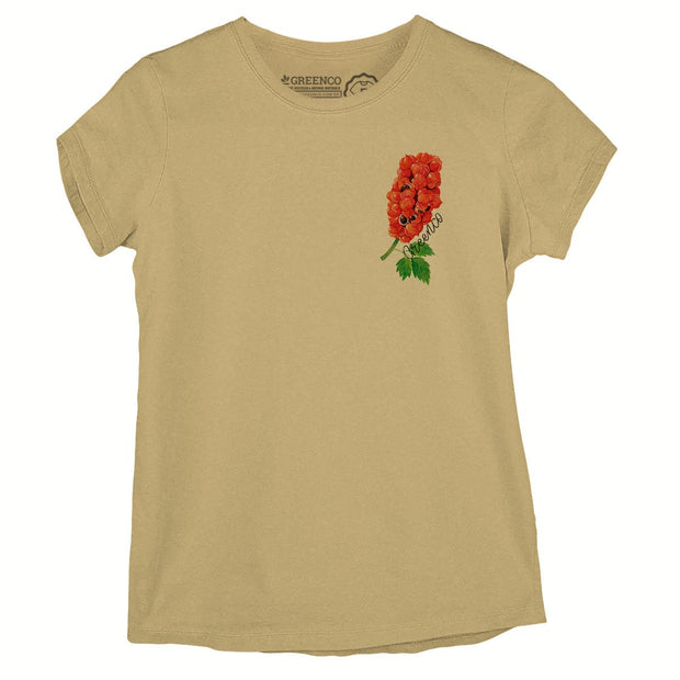 Sustainable Cotton Women's T-Shirt - Guaraná Pocket Logo
