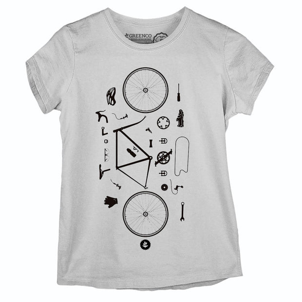 Sustainable Cotton Women's T-Shirt - Desconstrubike