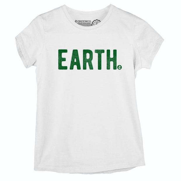 Sustainable Cotton Women's T-Shirt - Earth