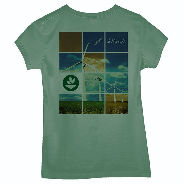 Sustainable Cotton Women's T-Shirt - Propeller