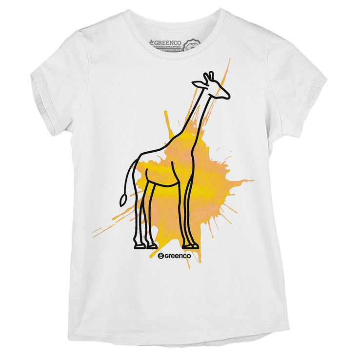 Sustainable Cotton Women's T-Shirt - Girafa