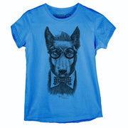 Sustainable Cotton Women's T-Shirt - Hipster Dog PB - RK