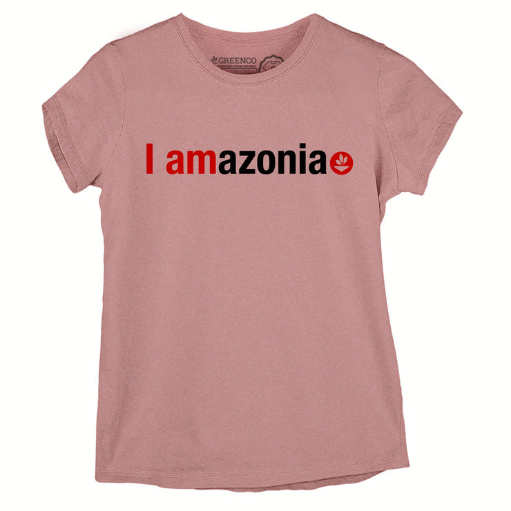 Sustainable Cotton Women's T-Shirt - I Amazonia