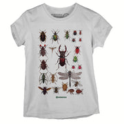 Sustainable Cotton Women's T-Shirt - Insects