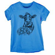 Sustainable Cotton Women's T-Shirt - Picky Moo - RK