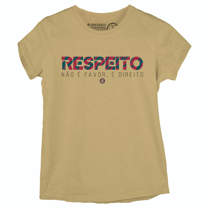 Sustainable Cotton Women's T-Shirt - Respeito