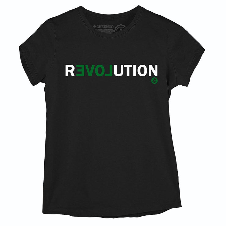 Sustainable Cotton Women's T-Shirt - Revolution
