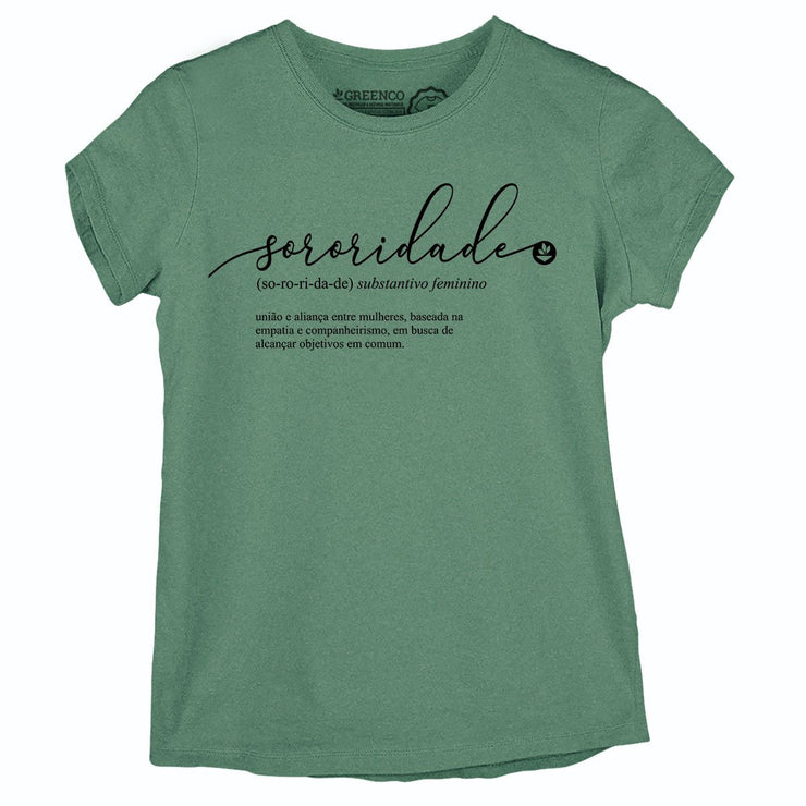Sustainable Cotton Women's T-Shirt - Sororidade