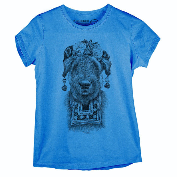 Sustainable Cotton Women's T-Shirt - Suusi Kahlo - RK