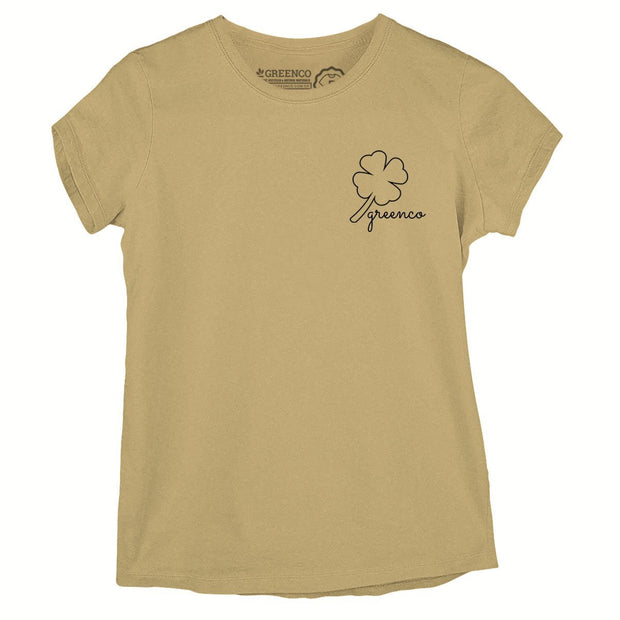 Sustainable Cotton Women's T-Shirt - Clover