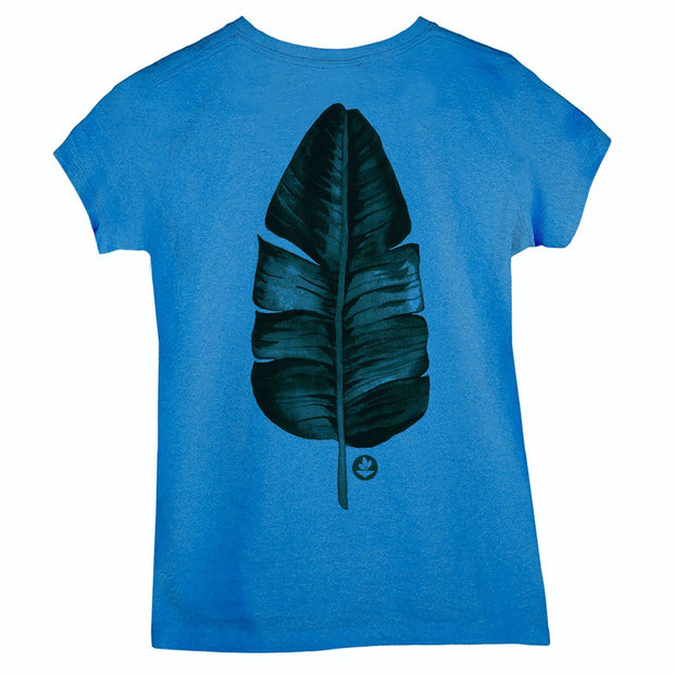 Sustainable Cotton Women's T-Shirt - Long Live Green