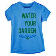 Sustainable Cotton Women's T-Shirt - Water Your Garden
