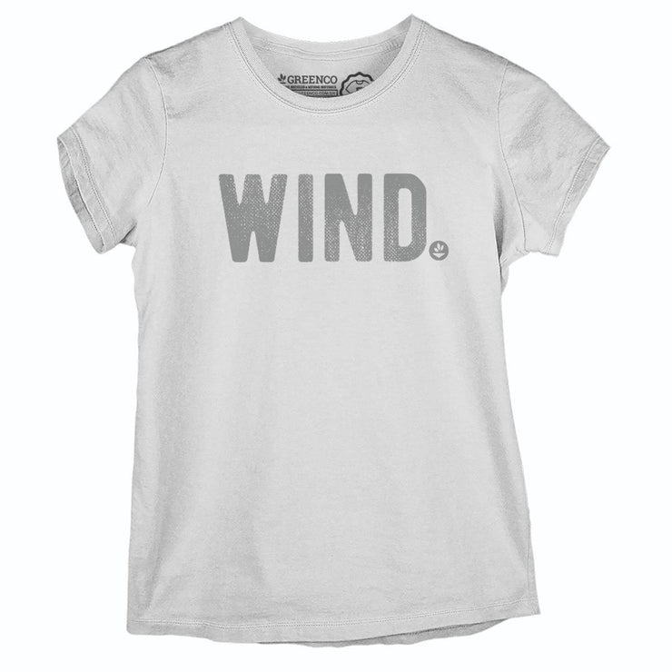 Sustainable Cotton Women's T-Shirt - Wind