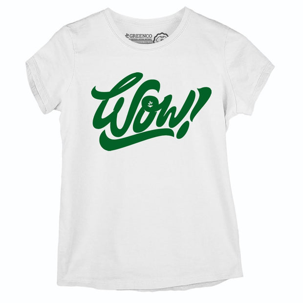 Sustainable Cotton Women's T-Shirt - Wow