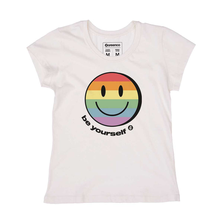 Organic Cotton Women's T-shirt - Be Yourself