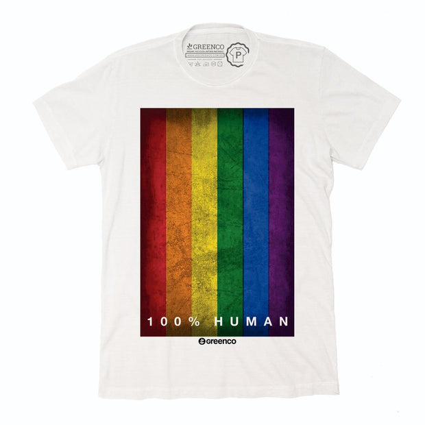 Sustainable Cotton Men's T-Shirt - 100% Human