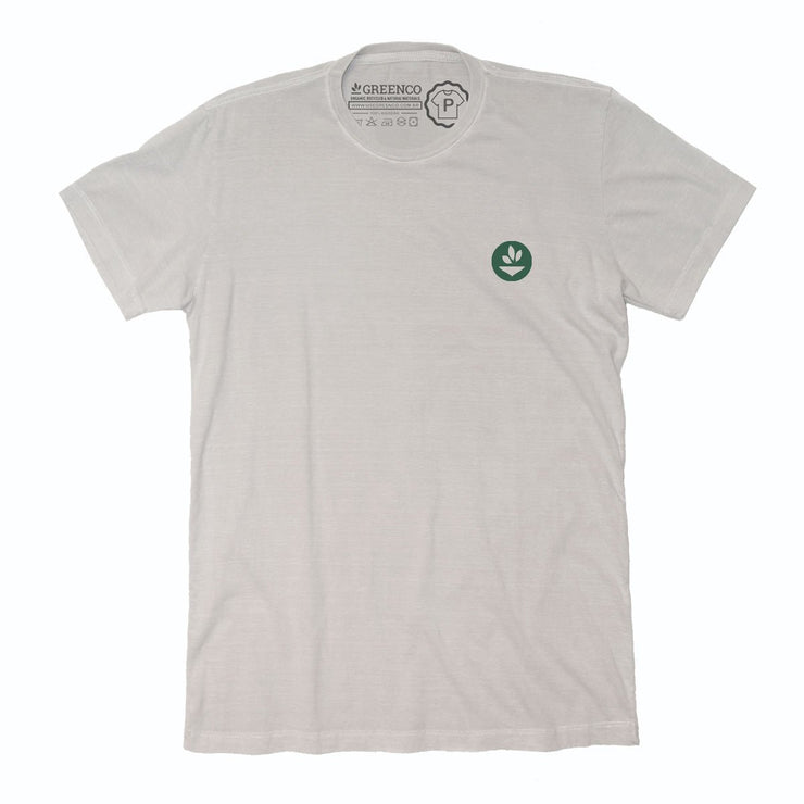 Sustainable Cotton Men's T-Shirt - 8 Tons of Green