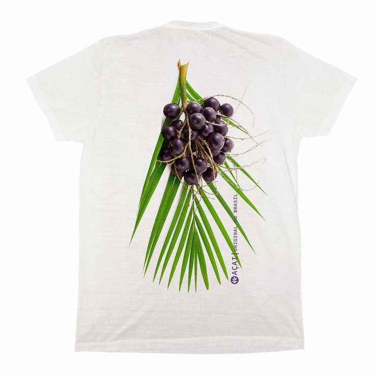 Sustainable Cotton Men's T-Shirt - Açaí