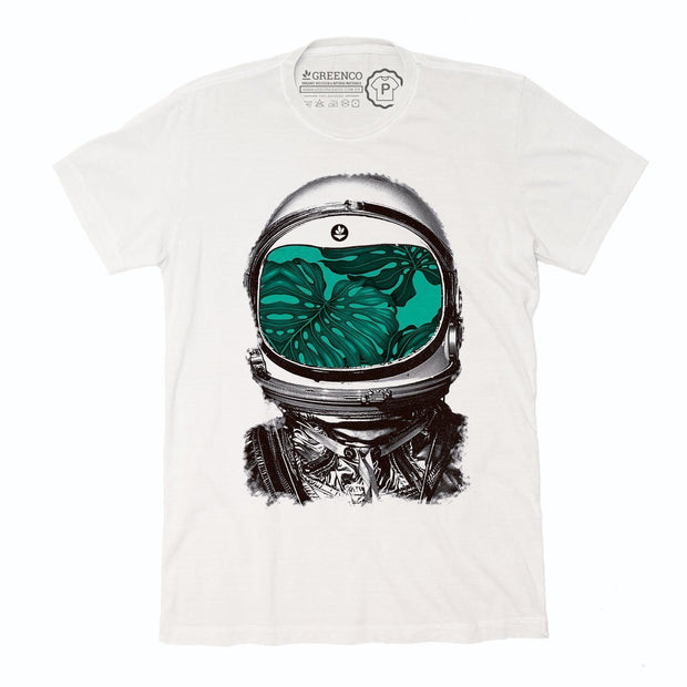 Sustainable Cotton Men's T-Shirt - Astronaut
