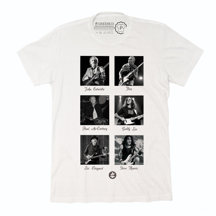 Sustainable Cotton Men's T-Shirt - Bass Heroes