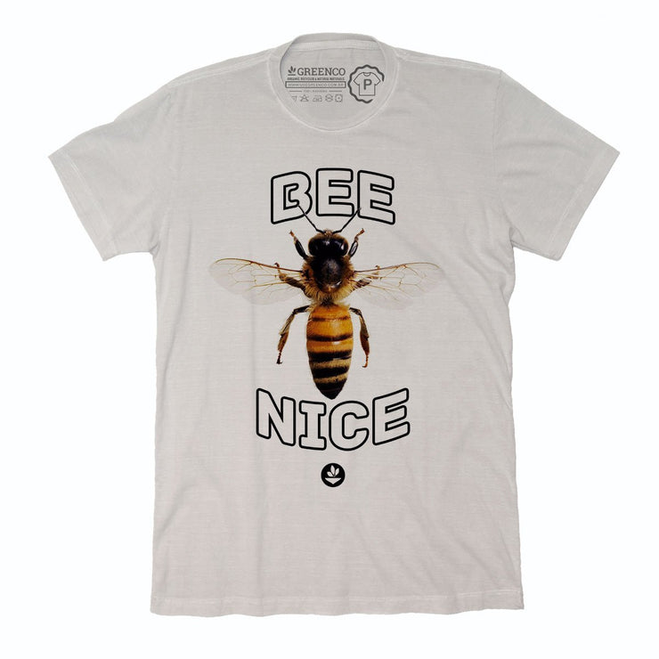 Sustainable Cotton Men's T-Shirt - Bee Nice