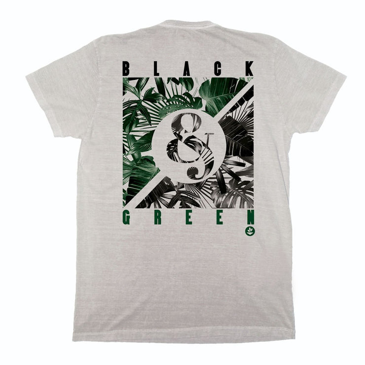 Sustainable Cotton Men's T-Shirt - Black And Green
