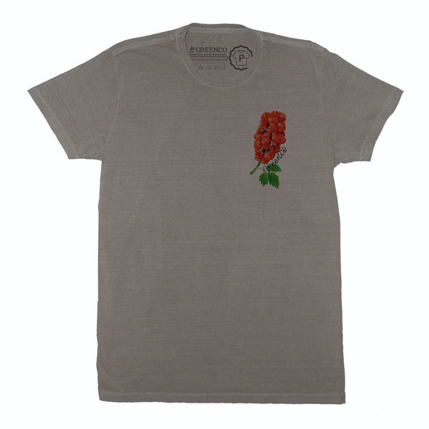 Sustainable Cotton Men's T-Shirt - Guaraná Pocket Logo