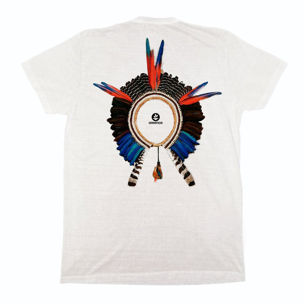 Sustainable Cotton Men's T-Shirt - Headdress