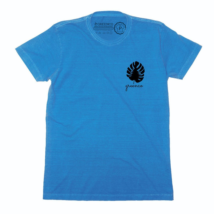 Sustainable Cotton Men's T-Shirt - Adam's Ribs Pocket Logo Peito