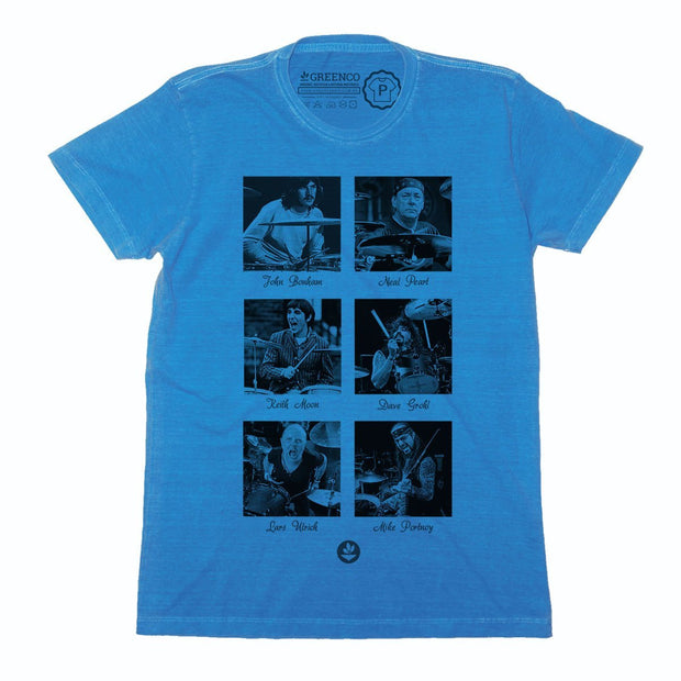 Sustainable Cotton Men's T-Shirt - Drum Heroes