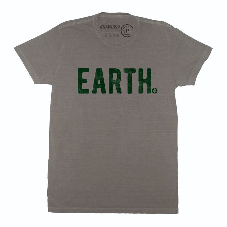Sustainable Cotton Men's T-Shirt - Earth