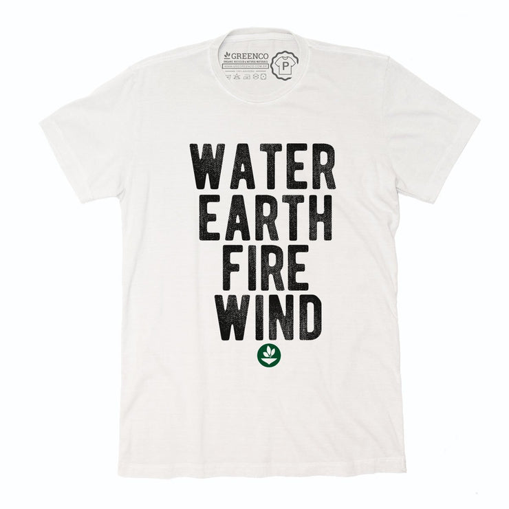 Sustainable Cotton Men's T-Shirt - Elements