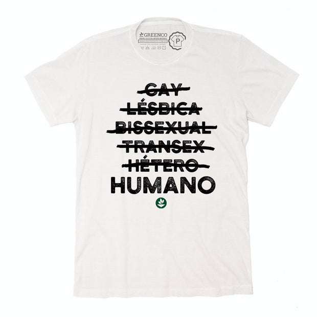 Sustainable Cotton Men's T-Shirt - Humano