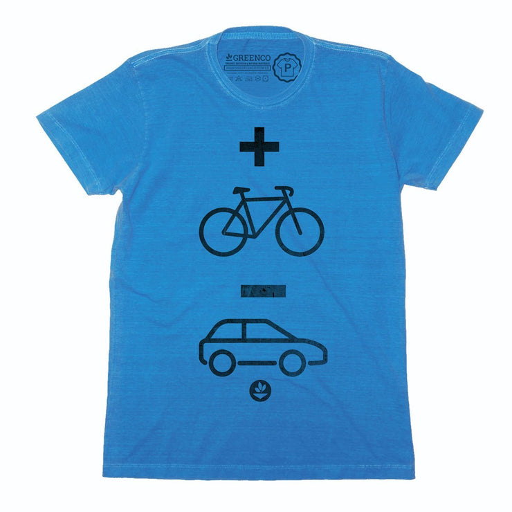Sustainable Cotton Men's T-Shirt - Mais Bike Menos Carro