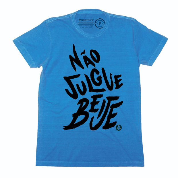 Sustainable Cotton Men's T-Shirt - Não Julgue