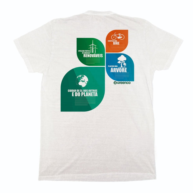 Sustainable Cotton Men's T-Shirt - Nation Leaves