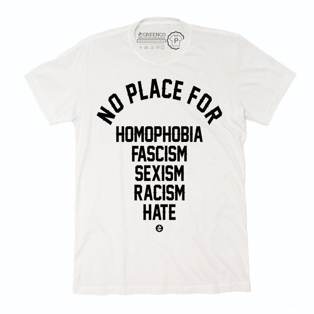 Sustainable Cotton Men's T-Shirt - No Place