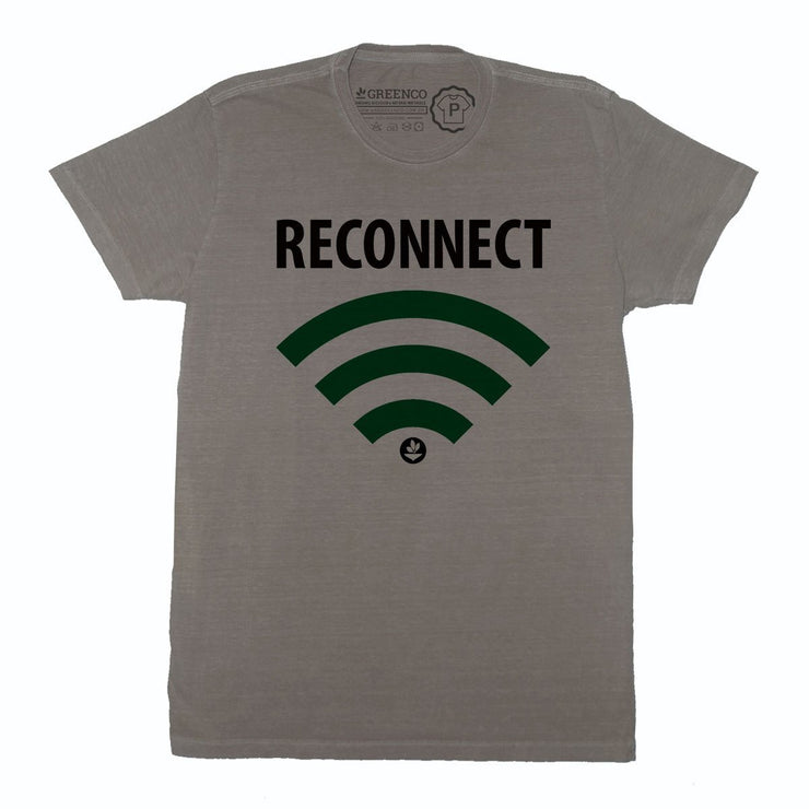 Sustainable Cotton Men's T-Shirt - Reconnect