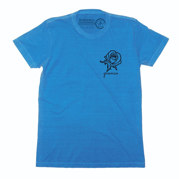 Sustainable Cotton Men's T-Shirt - Rose Pocket Icon