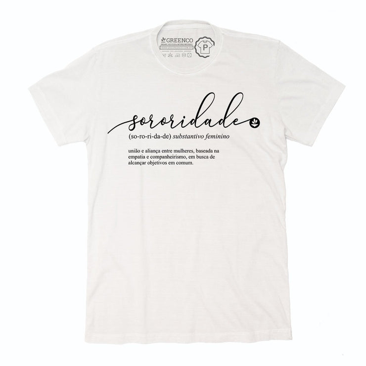 Sustainable Cotton Men's T-Shirt - Sororidade