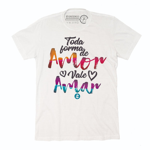 Sustainable Cotton Men's T-Shirt - Toda Forma de Amor