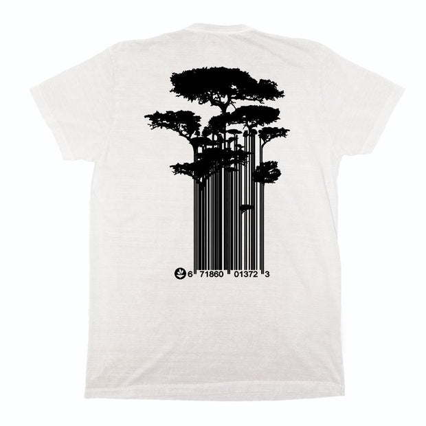 Sustainable Cotton Men's T-Shirt - Tree Code